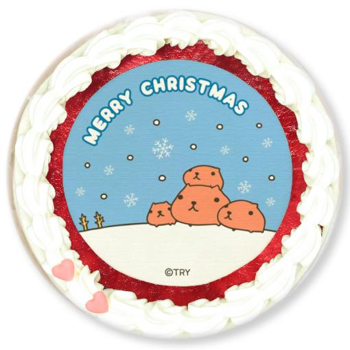 カピバラさん クリスマスプリケーキ2019(全2種)